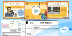 PlanIt - Computing Year 5 - Radio Station Lesson 2: Jingles Lesson Pack