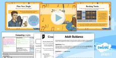 PlanIt - Computing Year 5 - Radio Station Lesson 2: Jingles Lesson Pack