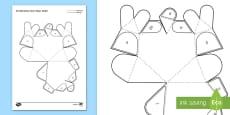 Simple 3D Valentine's Heart Activity Paper Craft