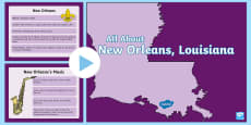 * NEW * New Orleans PowerPoint