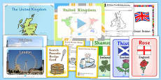 United Kingdom Teaching Pack