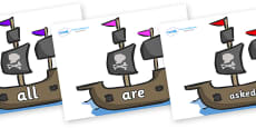 Tricky Words on Pirate Ships