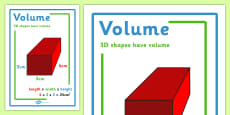 Volume Display Poster