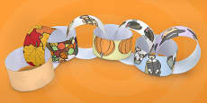 Thanksgiving Paper Chain
