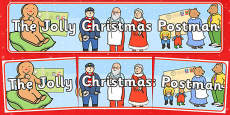 Display Banner to Support Teaching on The Jolly Christmas Postman