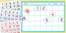 A4 Editable Calendar