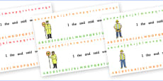 Alphabet Strips (People Who Help Us)