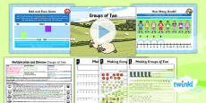 PlanIt Y1 Multiplication and Division Lesson Pack Multiplying and Dividing by Two (1)