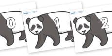 Numbers 0-31 on Pandas