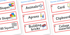 Puffin Themed Editable Classroom Resource Labels