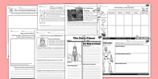 The Iron Man Writing and Activities Sheet Pack