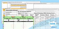 PlanIt - DT UKS2 - Marbulous Structures Unit Assessment Pack