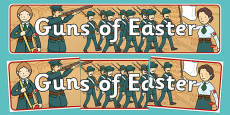 Guns of Easter Display Banner