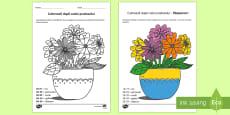 Colorează după codul produsului - Plante și creșterea lor