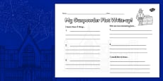The Gunpowder Plot Write Up Activity Sheet