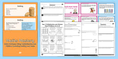* NEW * KS2 Multiplication Word Problems Resource Pack