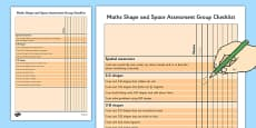 1999 Curriculum Junior Infants Maths Shape and Space