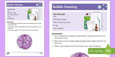 * NEW * Bubble Painting Recipe