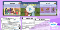 PlanIt - RE Year 3 - The Nativity Story Lesson 5: A New Star Appears Lesson Pack