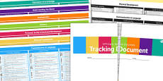EYFS Early Years Outcomes Tracking Document September 2014