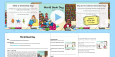 * NEW * World Book Day Assembly Pack