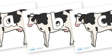Phoneme Set on Cows