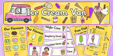 Ice Cream Van Role Play Pack