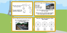 Tour de France KS1 Maths Challenge Cards
