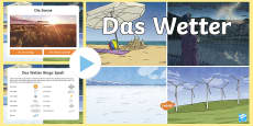 * NEW * Weather Vocabulary PowerPoint