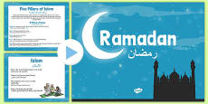 KS1 Ramadan Information PowerPoint Arabic Translation