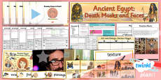 PlanIt - Art UKS2 - Ancient Egypt Unit Pack