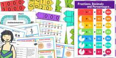 KS3 Maths Decimals Catch Up Resource Pack