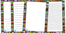 Flower Photo Page Borders (Australia)