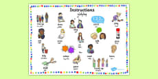 New EAL Starter Instructions Word Mat Urdu Translation