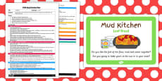 Leaf Bread EYFS Mud Kitchen Plan and Prompt Card Pack