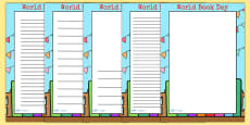 World Book Day Page Borders