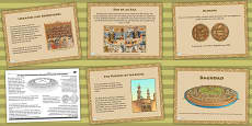 The Role of Baghdad in the Early Islamic Civilisation Lesson Teaching Pack