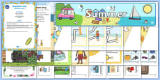 Childminder Summer Resource Pack