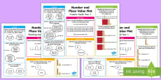 * NEW * Year 1 Number and Place Value Differentiated Maths Mat