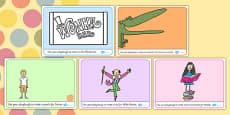 Roald Dahl Themed Playdough Mats