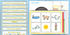 Lesson Plan and Enhancement Ideas EYFS to Support Teaching on Pig in the Pond