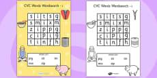CVC Wordsearch i