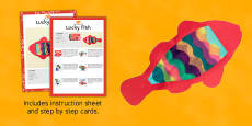 Lucky Fish Craft Instructions