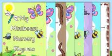 Minibeast Nursery Rhyme Booklet Pack