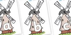 Phoneme Set on Windmills