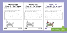 Linguistic Phonics Stage 5 and 6 Phase 3b, 'u' Sound Activity Sheet