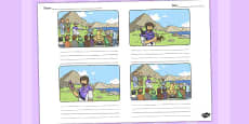 The Flowers of the Field Storyboard Template