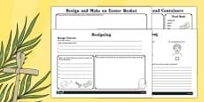 Design and Make an Easter Basket Booklet