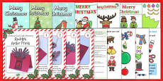 Christmas Card Resource Pack