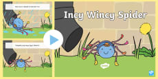 * NEW * Incy Wincy Spider PowerPoint